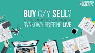 Przygotowanie do handlu LIVE (13 listopada) - Forex, indeksy, surowce