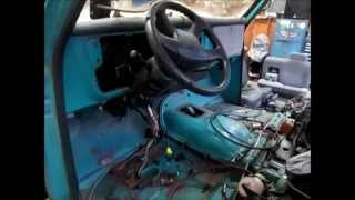 1968 GMC converted to 2500HD chassis part 6 FrankenTruckHD