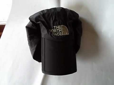 Folding Waterproof Terylene Cap Hat - Black Dealextreme - YouTube a55fbed8299