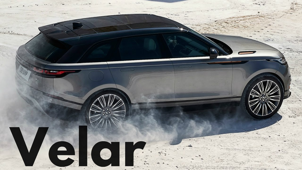 Range Rover Velar Best Off Road Luxury Suv Youtube