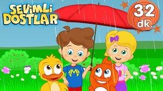 Ça Ça Ça ve 30 dk Sevimli Dostlar Bebek Şarkıları | Adisebaba TV Kids Songs and Nursery Rhymes 2020