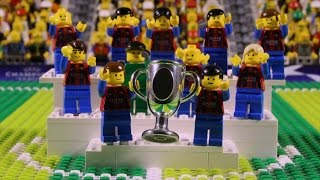 Barcelona beat Juventus to win the Champions League | Brick-by-brick