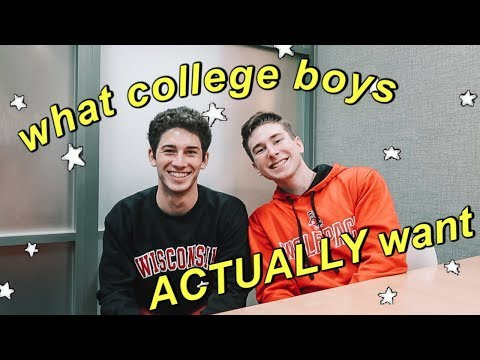 what college guys ACTUALLY look for in girls