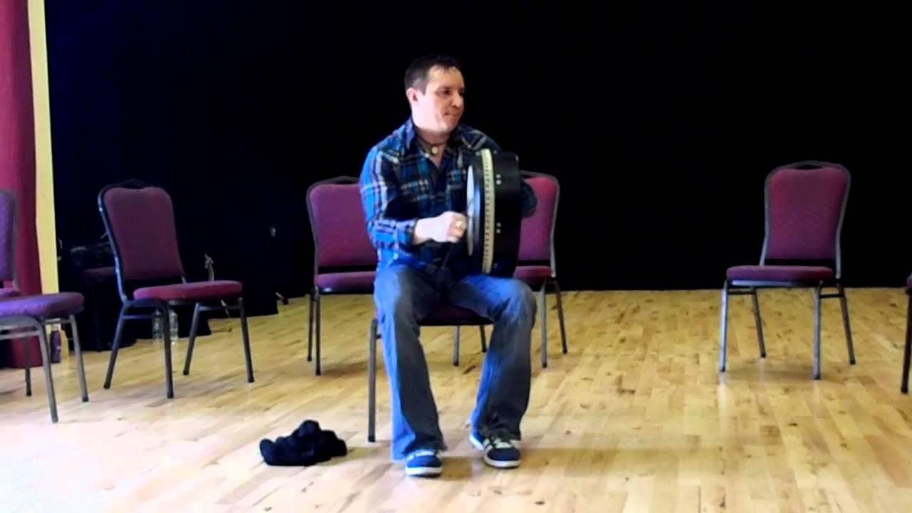 John Joe Kelly Bodhran solo, Coleman Bodhran School, 2011