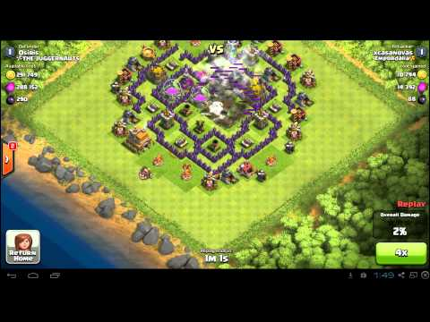 Best Clash of Clans Town Hall 7 Farming Base Layout: TH7 Defense Setup