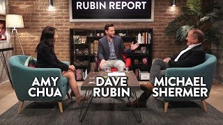 Gay Cake Debate, Political Tribes, and Victimhood  (Michael Shermer/Amy Chua Full Interview)