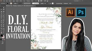 Create Wedding Invitation Cards in Illustrator: Start to Finish! screenshot 4