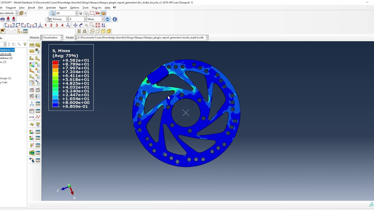 Generating FEA reports with Abaqus Regarding Fea Report Template