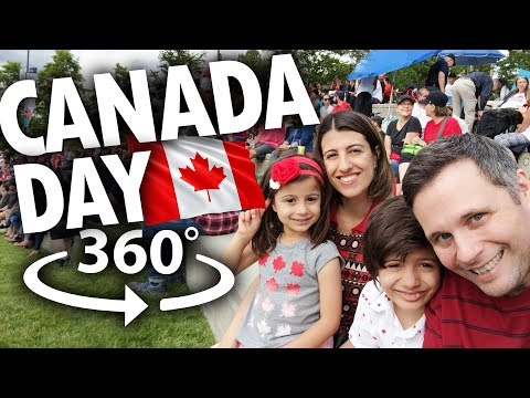 CANADA DAY PANORÂMICO EM 360 GRAUS - Canadá 360° Ep.6