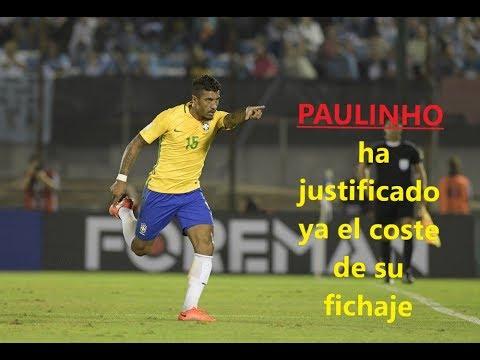 Paulinho ha justificado ya el coste de su fichaje