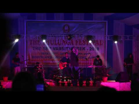 Biraj and the band performs Assamese song live at The Thulunga Festival, 2018    Full HD.