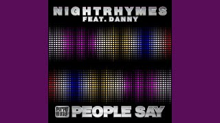 People Say (Main Mix) (feat. Danny)
