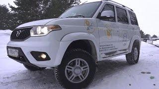 2017 УАЗ Патриот (3163) 2.7 МТ Стиль. Обзор (интерьер, экстерьер, двигатель).