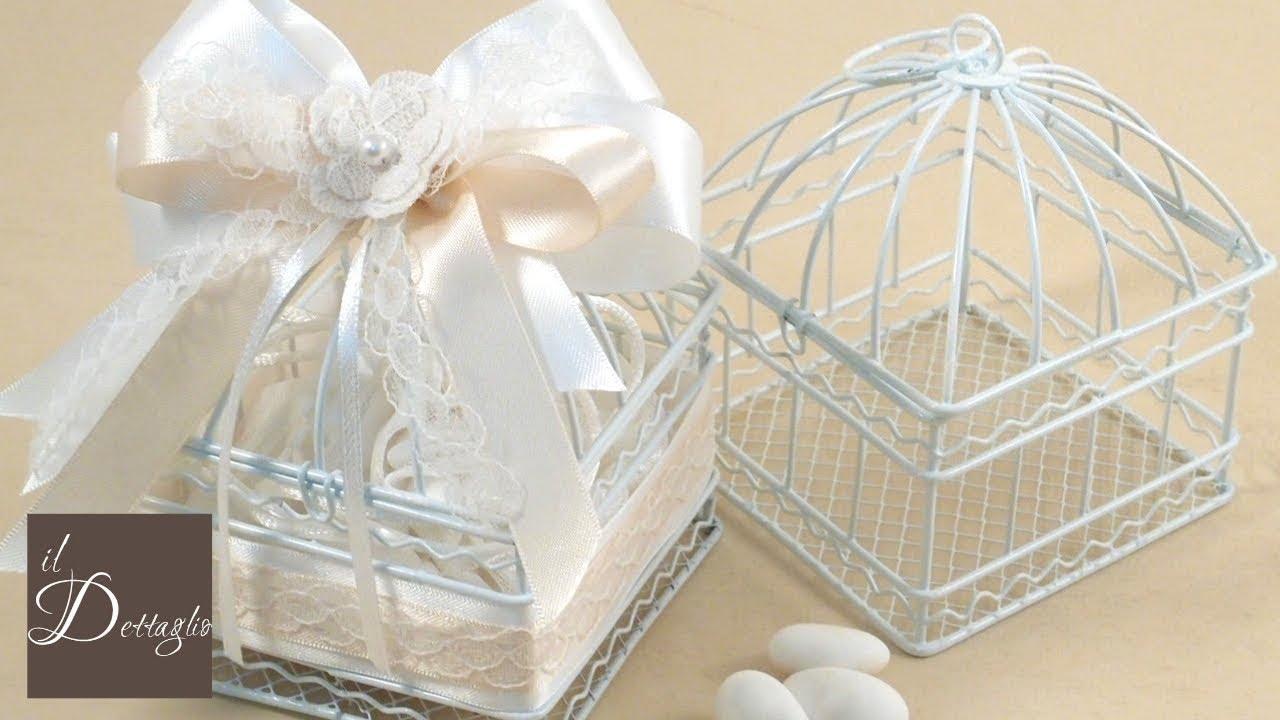 Bomboniera Matrimonio Natalizio : Tutorial bomboniera matrimonio cresima fai da te il