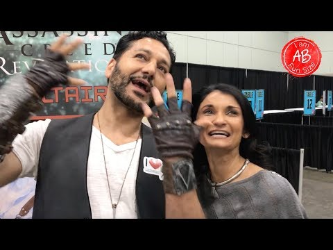 I Am Fun Size  with Cas Anvar The Expanse, Assassin's Creed