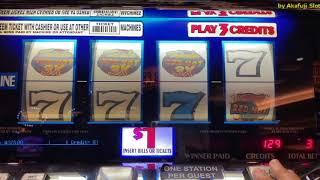 4 Reels - Max Bet $3 - Slot Machine Triple RED HOT @ Pechanga Resort Casino