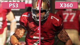 Madden NFL 15 - PS3 vs. Xbox 360 Graphics Comparison [Full HD]