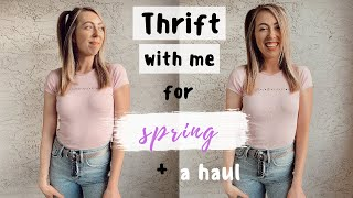 Come THRIFT with me for SPRING & SUMMER + a haul!!!