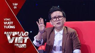 BAN NHẠC VIỆT 2017 | Tập 1 Full: 'Chặt chém' Mỹ Linh quyết liệt, Phương Uyên vẫn trắng tay ra về