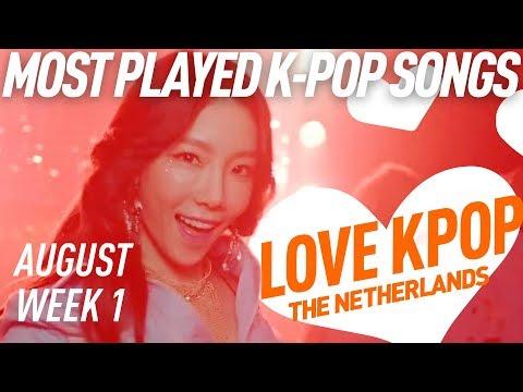 [TOP 40] Most Played K-Pop Songs - August Week 1