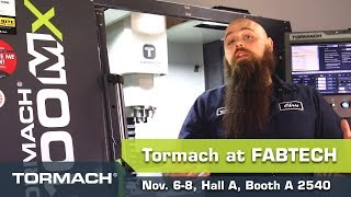 FABTECH 2018 – What to Expect from Tormach