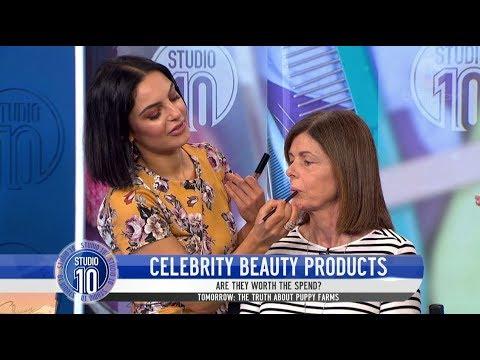 Celebrity Beauty Products w/ Domenica Calarco   Studio 10