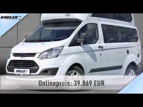 Ford Transit Custom Transit Custom Nugget Hochdach Sofort Youtube