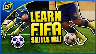 FIFA 16 Skills IN REAL LIFE Tutorial #1 ★ Xbox/Playstation