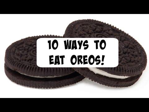 10 Ways to eat Oreos!