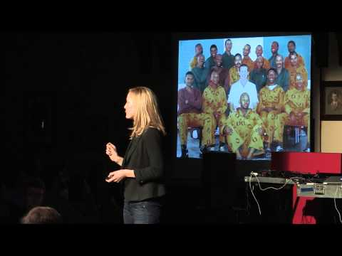 Leadership lessons behind bars: Robyn Scott at TEDxOxbridge