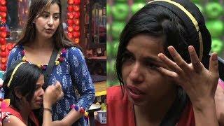 Dhinchak Pooja Crying  in Big Boss 11 House!! Arshi dance pooja's song.