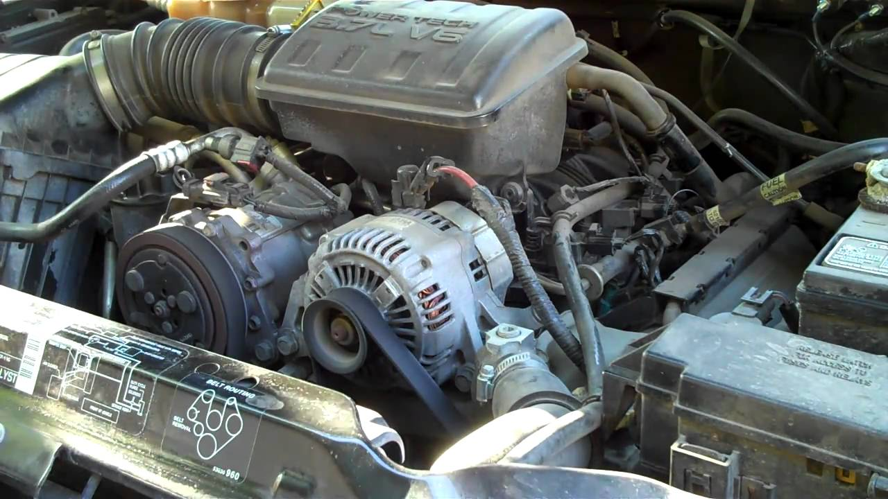 2002 Jeep Liberty Limited Engine Noise - YouTube
