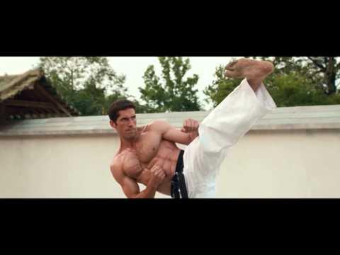 Scott Adkins training