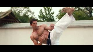 Scott Adkins training