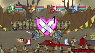 Easy way to Level Up in Castle Crashers