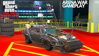 ARENA WAR GAMEPLAY WRECK IT GTA ONLINE