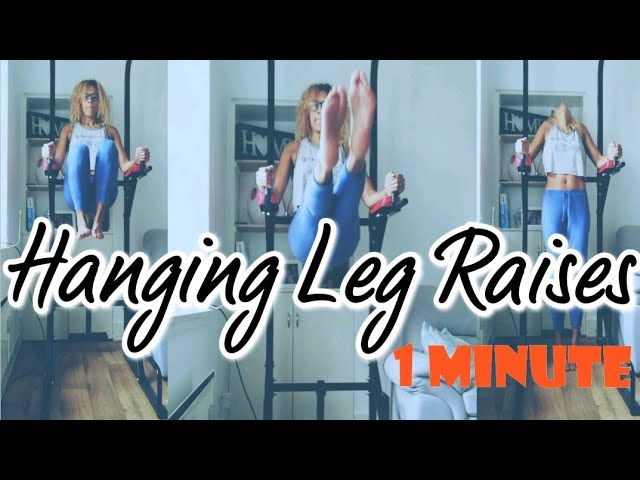 Roman chair leg raises - how many in 1 minute?