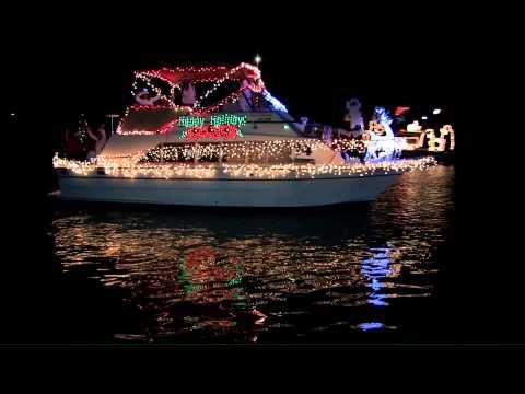 Venice Christmas Boat Parade 2012