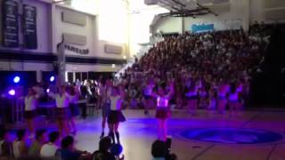 Vphs cheer and song blow out 2012