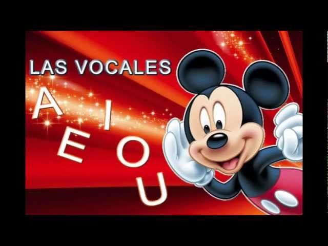 Mickey Mouse y las vocales Videos De Viajes