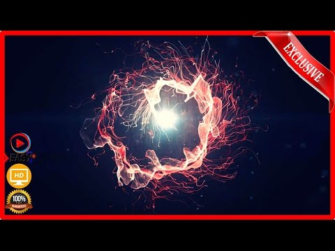 Fire Intro Video(After effects Template)(Glowing lines)