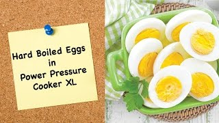 How To Cook Eggs In Pressure Cooker