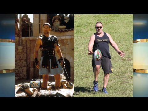 Russell Crowe Fat-Shamed?