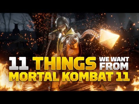 Things We Want From Mortal Kombat