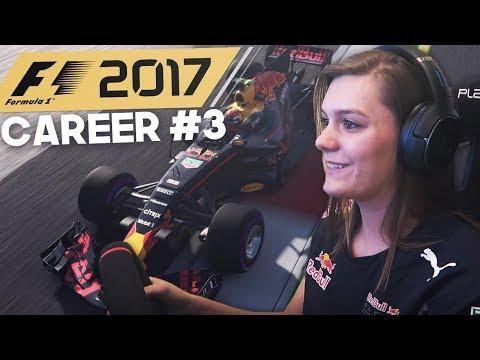 PODIUM!? F1: 2017 CAREER MODE DUTCH RED BULL! PART 3 BAHRAIN! (F1: 2017 Gameplay)