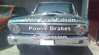 1964 1965 Ford Falcon power brakes geo metro booster master cylinder upgrade mod conversion