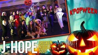 [#KPOPWEEN] Kpop Class (BÁSICO) - JHope ft. BeckyG - Chicken Noodle Soup   BLK Xtreme Kpop Training