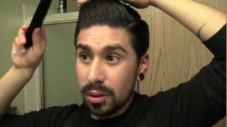 Repeat youtube video POMPADOUR FOR THICK HAIR