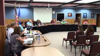 Weyauwega Fremont School District Committee Meeting 08-11-14