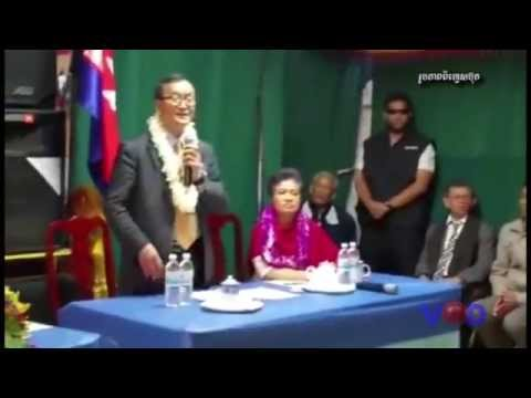 Sam Rainsy Was Criticized by His Activists at Abroad